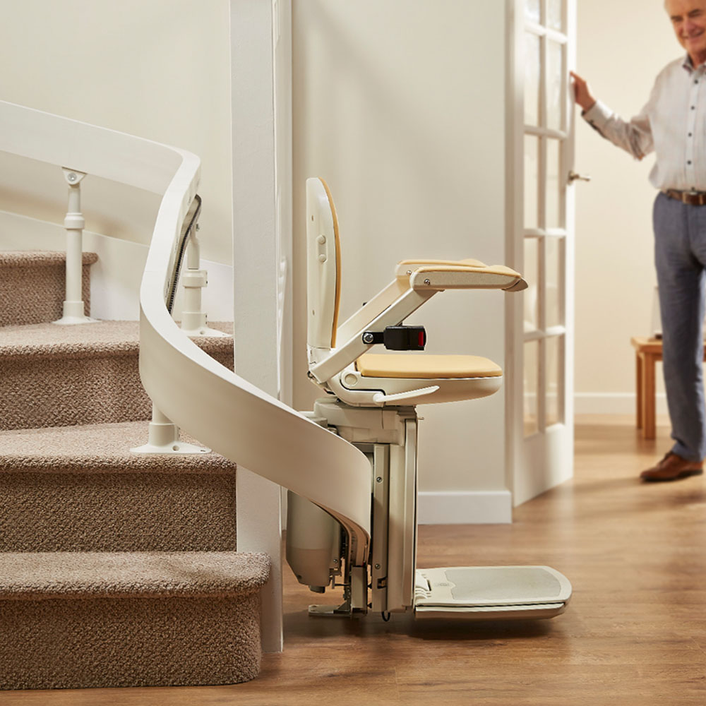 curved stair lift