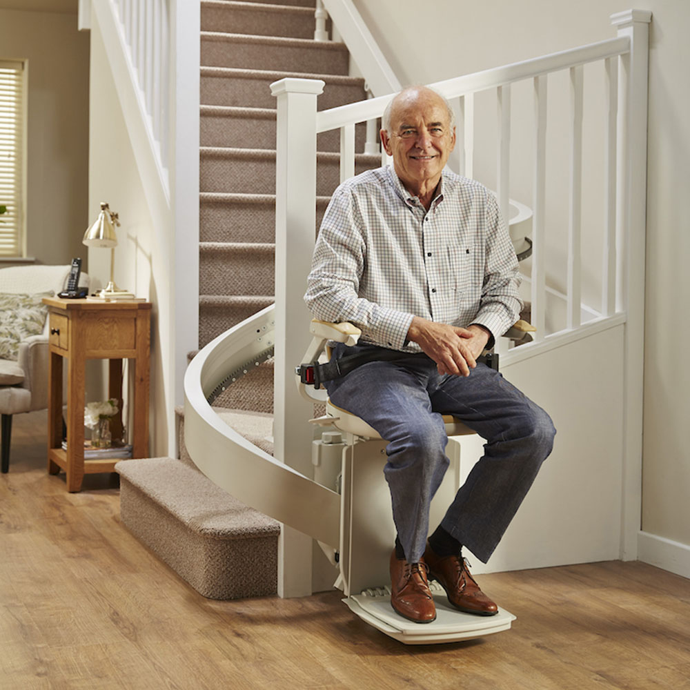 curved stair lifts dublin