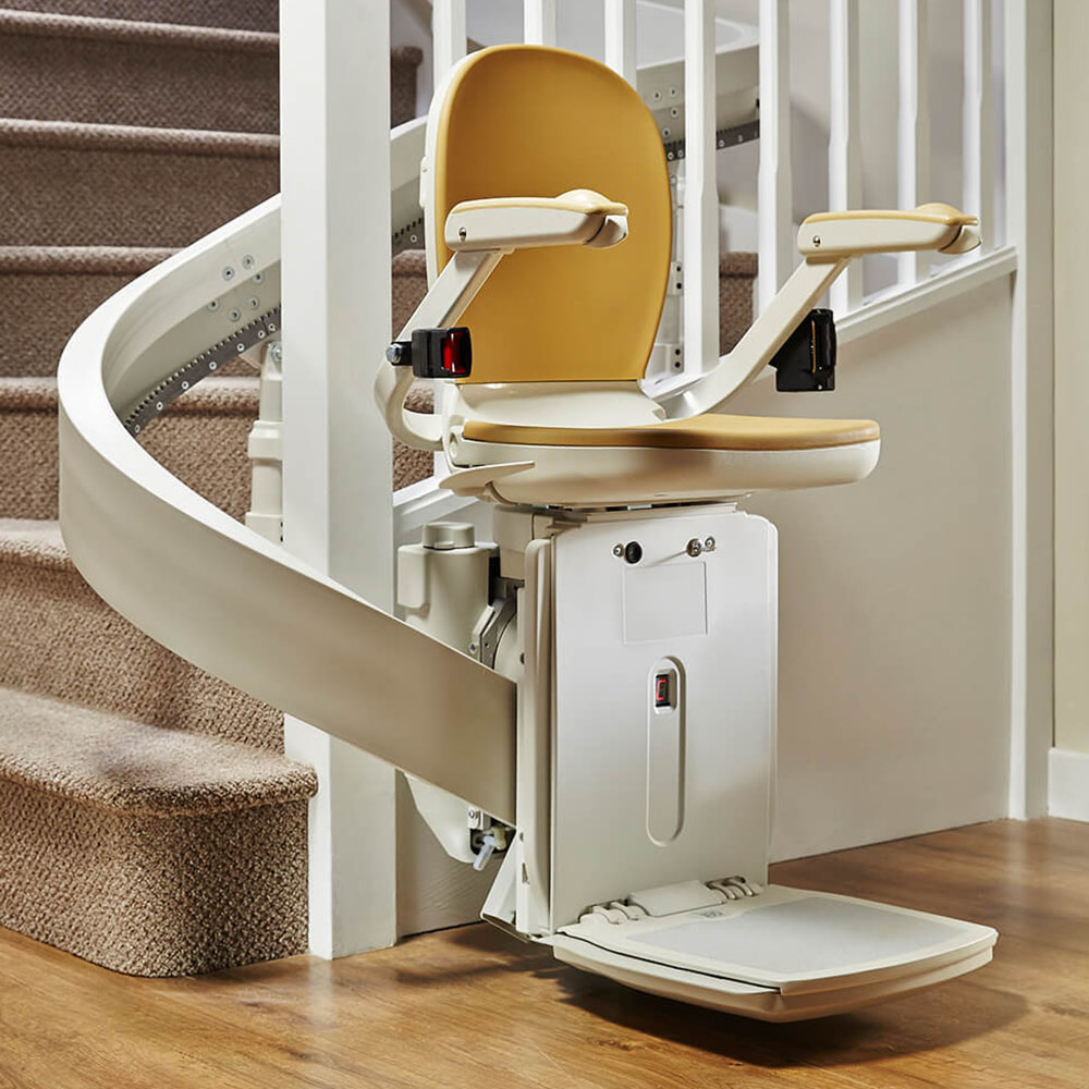 curved stair lifts ireland